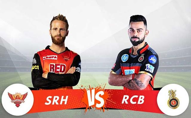 RCB vs SRH Dream11 Predictions & Betting Tips, IPL 2018 Today Match Predictions
