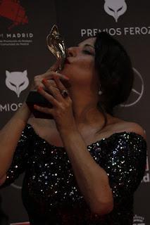 Yolanda Ramos en los Premios Feroz 2020