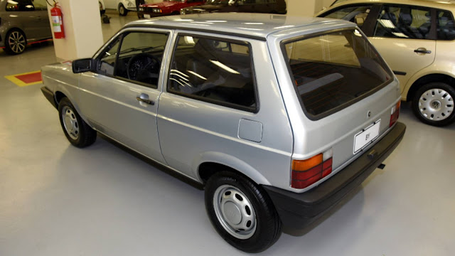 Volkswagen BY: o projeto cancelado do concorrente do Uno