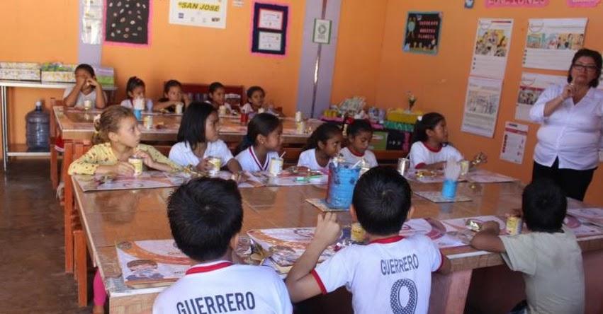 MIDIS invertirá S/ 27 millones en alimentación de alumnos de Jornada Escolar Completa en la Amazonía - www.midis.gob.pe