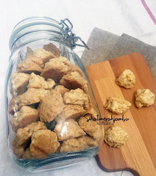 Resepi Biskut Cornflakes Rangup Mudah Ya Amat! Gerenti jadi.