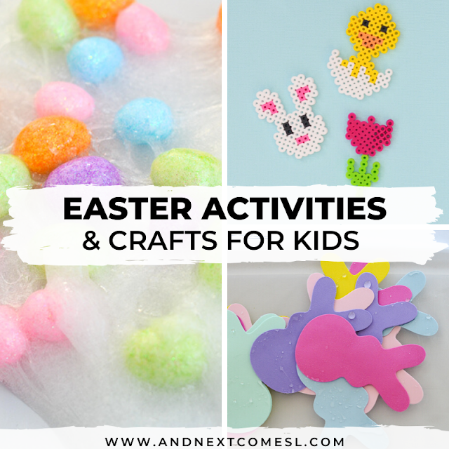 Easter activities & Easter crafts for kids
