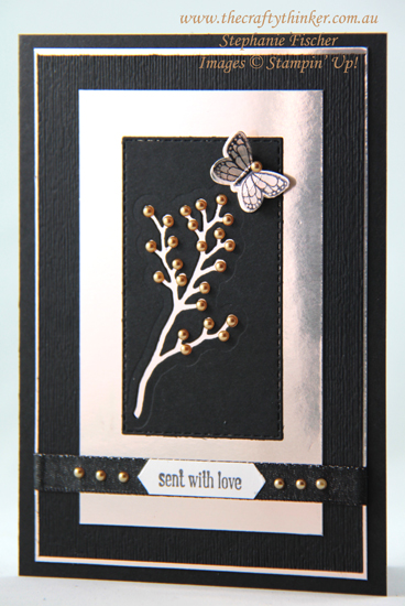 #thecraftythinker #stampinup #cardmaking #diecutnegativespaces #frostedbouquet , Using the negative spaces of die cuts, Frosted Bouquet, Stampin' Up Australia Demonstrator,Stephanie Fischer, Sydney NSW