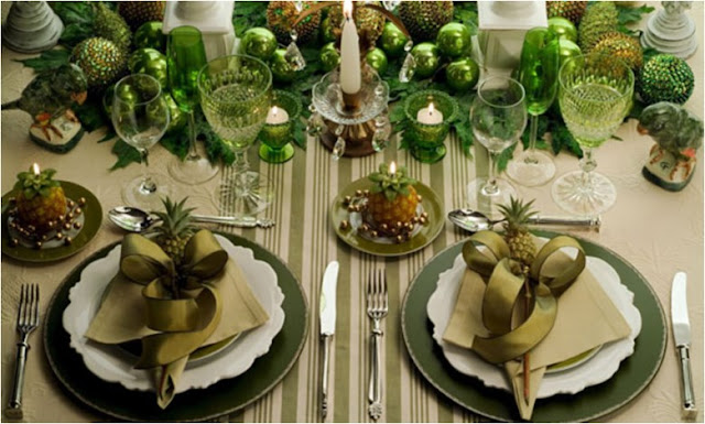 Christmas Table Decoration: How To Do