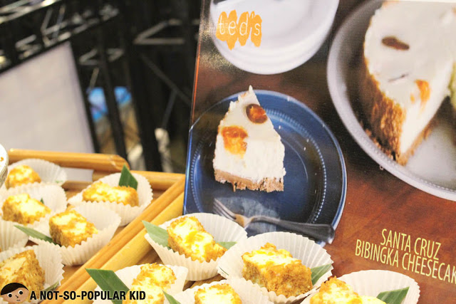 Santa Cruz Bibingka Cheese Cake - Ted's