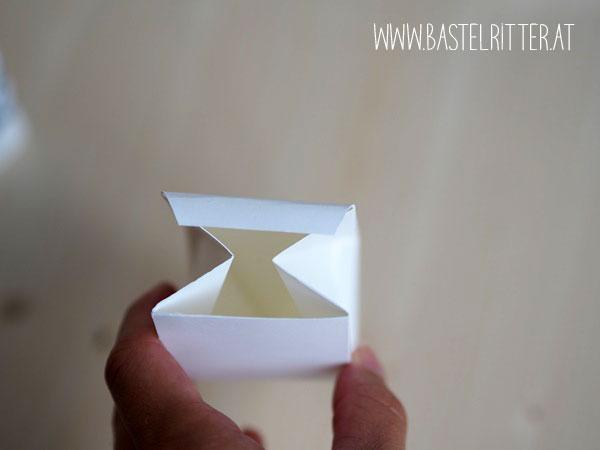 Anleitung Video Boot Box Verpackung Schachtel Diamant Blumenboutique