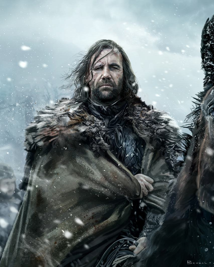 "Sandor Clegane ""The Hound"" 