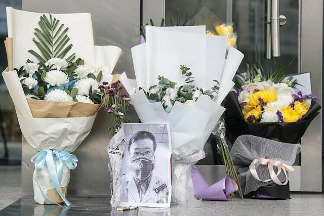 """""""Kẻ bịa đặt""""- bác sĩ Lý Văn Lượng được người dân tưởng niệm và đòi quyền tự do nguôn luận"""