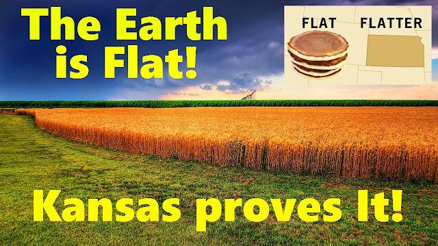 Testes comprovam que o Kansas é completamente plano!