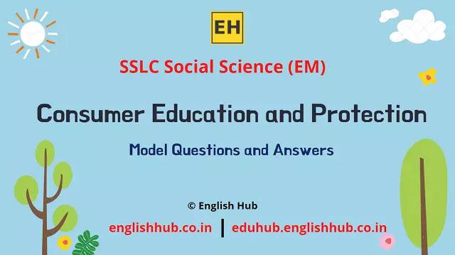 SSLC Social Science (EM): Consumer Education and Protection