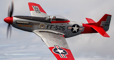 Pesawat P-51D Mustang Amerika Serikat