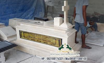 Makam Perjamuan Granit Kristiani   Pusara Makam Granit Kristen