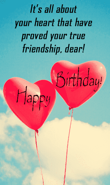 touching birthday message to a best friend long message