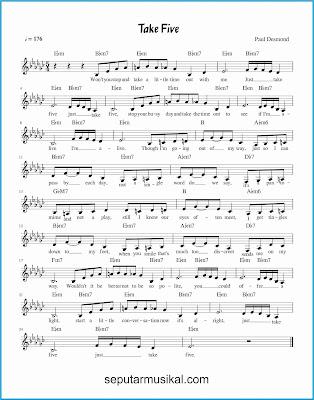 take five lagu jazz standar