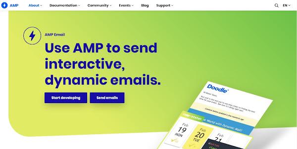 AMP para correo electrónico: lo que los especialistas en marketing deben saber