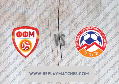 North Macedonia vs Armenia -Highlights 02 September 2021
