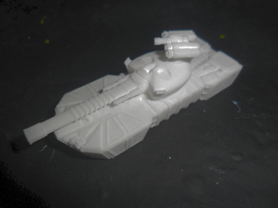 Revenant Spear Main Battle Tank unpainted