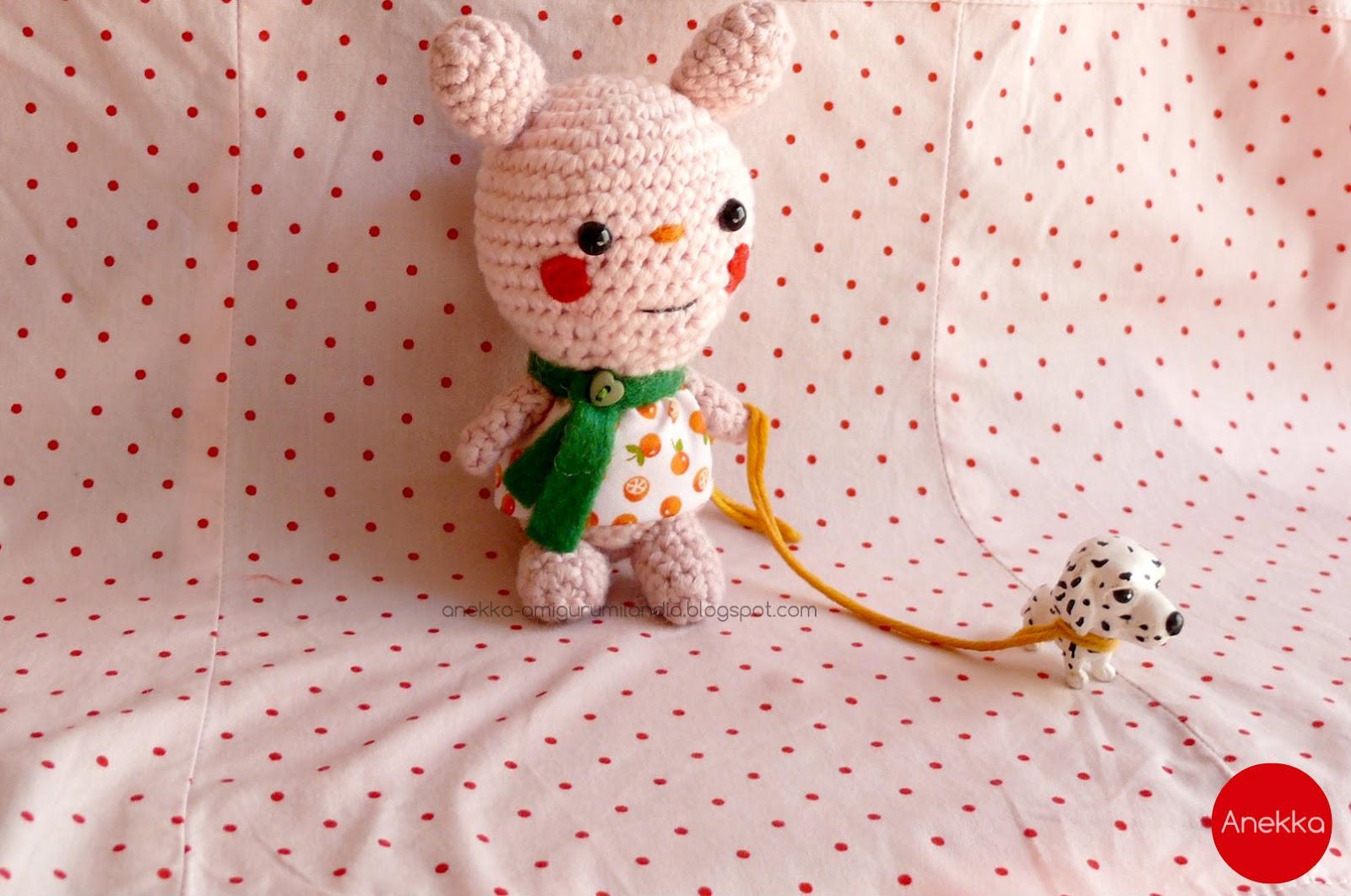 bunny crochet doll  Anekka handmade