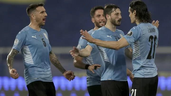 Cavani ensures Uruguay avoid Brazil