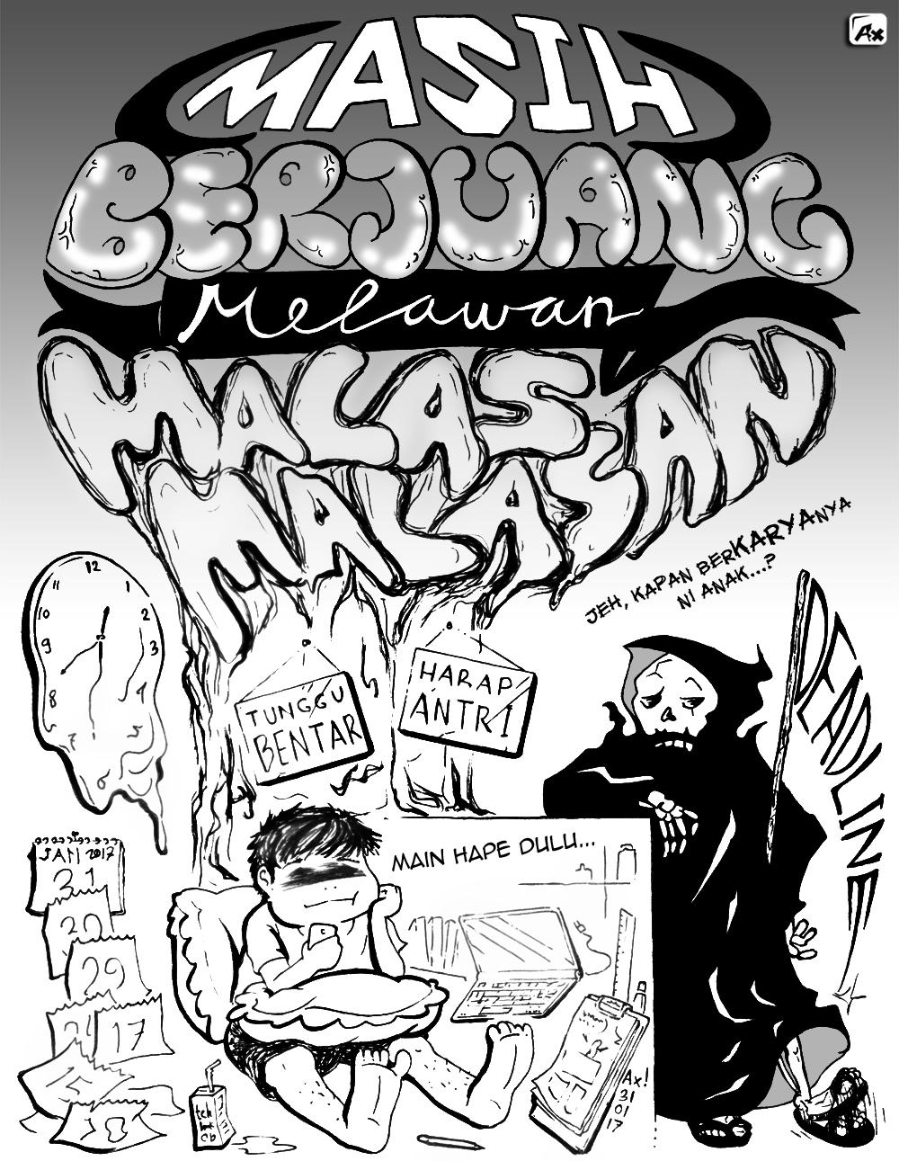 Melawan_Malas-Malasan_by Ax ! [size 50%]