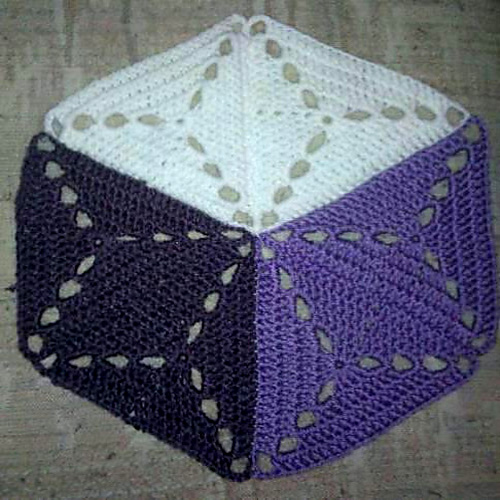 3D Illusion Blanket - Crochet Pattern