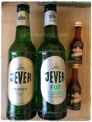 Jever Pilsener & Jever Fun und Wilthener - Gebirgskräuter Likör