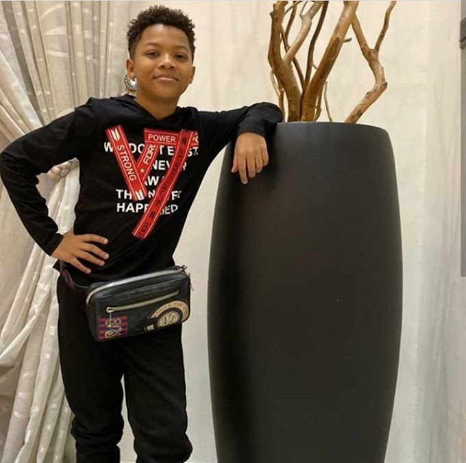 Peter and Lola Okoye celebrate son, Cameron as he turns 12