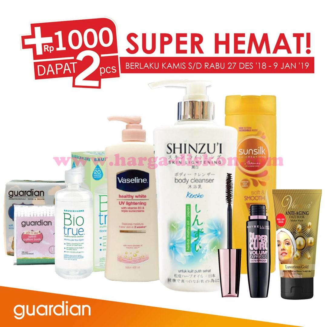 Katalog Promo Guardian Weekly Specials 27 Desember 2018 9 Januari