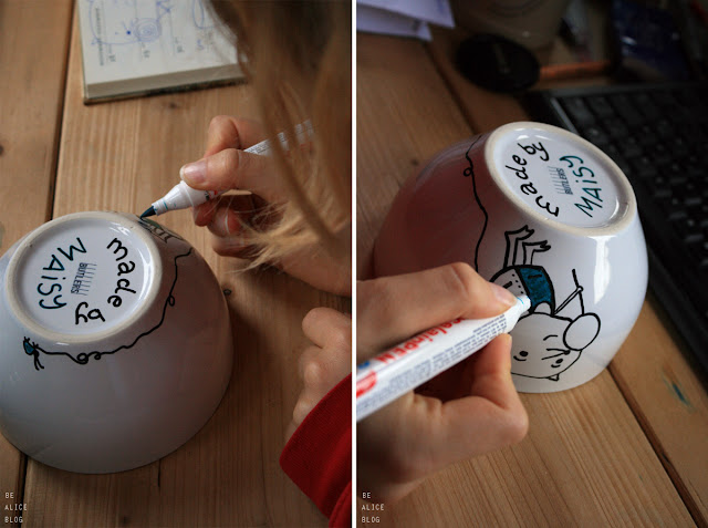 decoration, diy, tutorial, hobby, bowl, dishes, painting, project, present