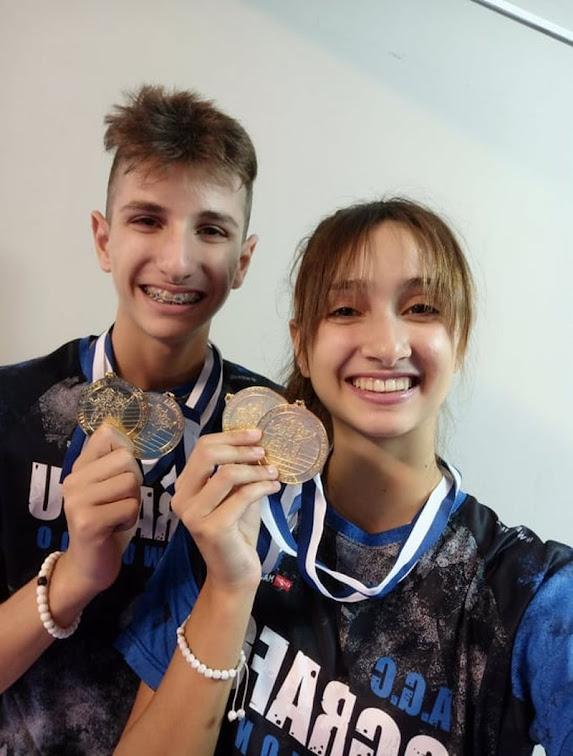 Πανελλήνιοι Πρωταθλητές στέφθηκαν και φέτος και τα δύο παιδιά του λιμενάρχη Στυλίδας Αντιπλοιάρχου ΛΣ Βέτσικα Ευθυμίου, στο Πανελλήνιο Πρωτάθλημα TaeKwonDo (ITF)