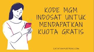 Kode MGM Indosat