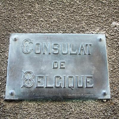 The (abandoned) Belgium Consulate.