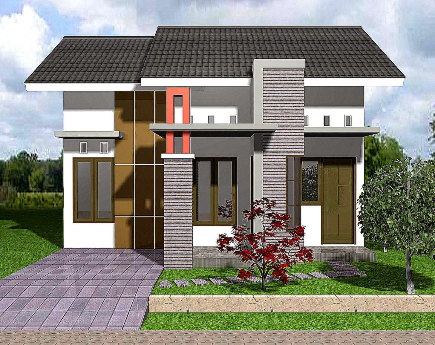 100 Model Dan Desain Rumah Minimalis 2020 Lengkap Dengan