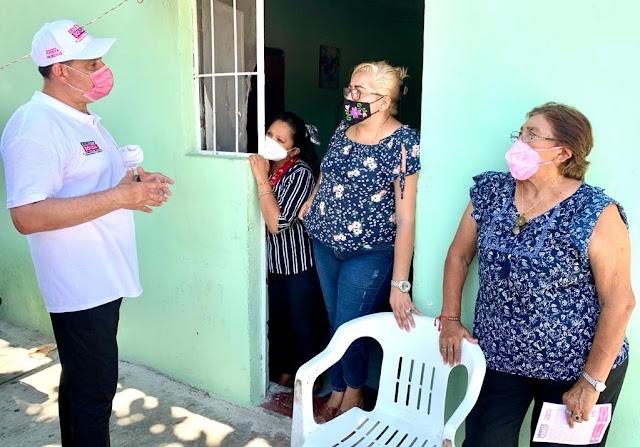 """""""Vamos bien y seguimos sumando ciudadanos que votarán por nosotros para llegar al Congreso"""": Ernesto Sonda"""