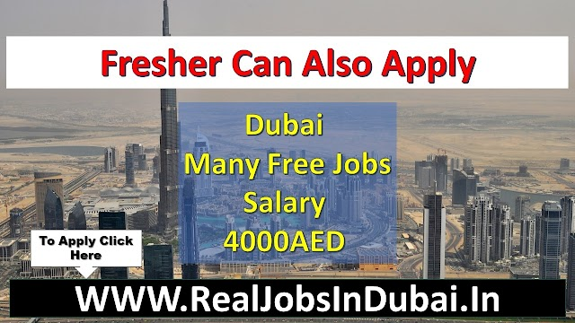 Free Jobs In Dubai Available Now Apply Fast