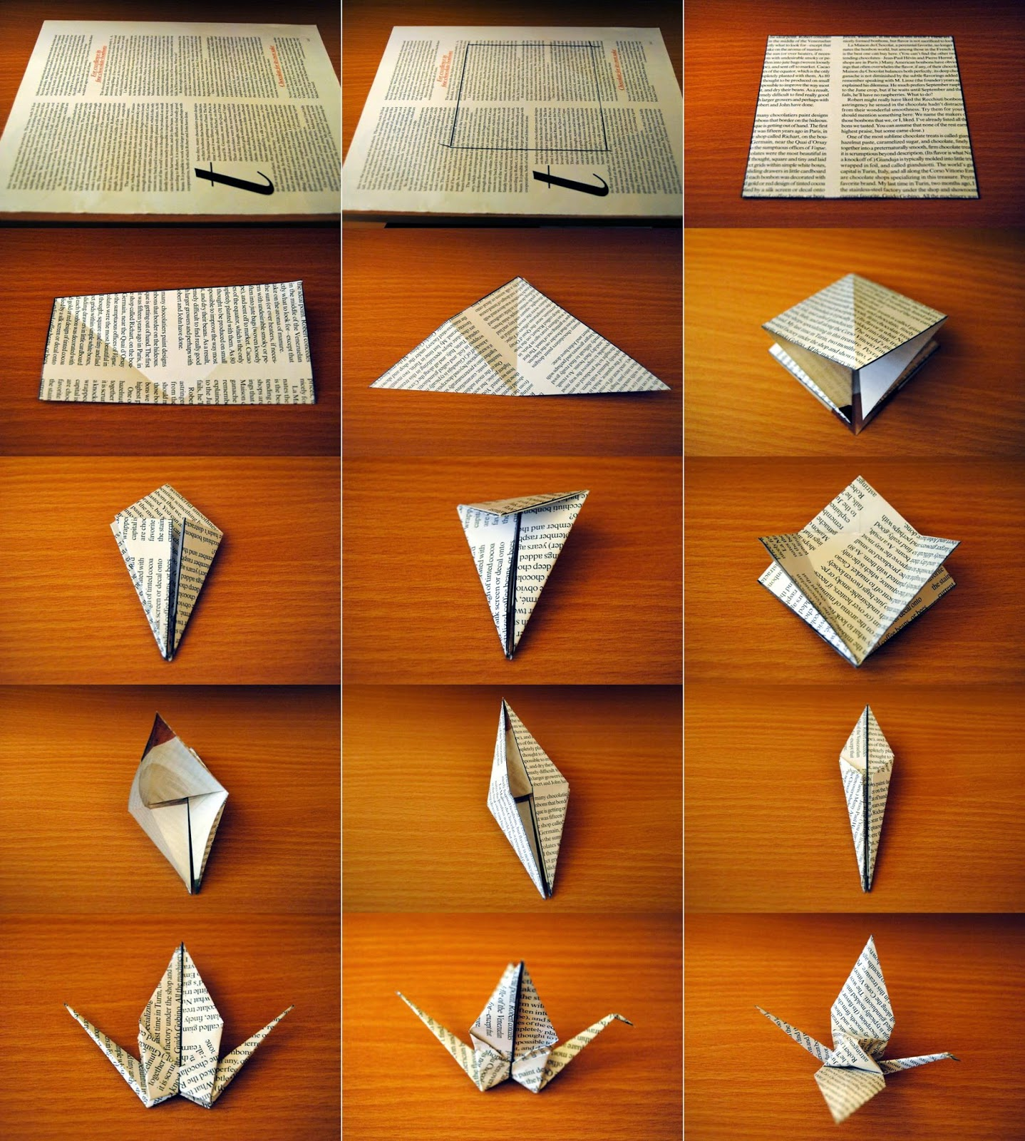 Easy Origami Crane Instructions For Kids - photo#44