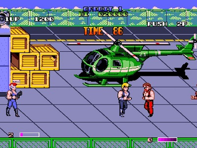 Double Dragon 2: The Revenge Story