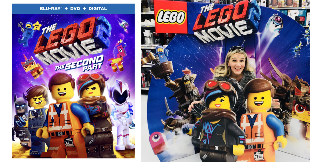 The LEGO Movie 2 Now on Blu-Ray DVD - Win Your Own Copy