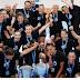 Φωτογραφίες από την απονομή, μετά από τον δεύτερο τελικό, Βέροια 2017-ΠΑΟΚ