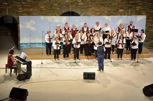 Άρτα: Τις καλύτερες εντυπώσεις άφησε η χορωδία του ΣΚΟΥΦΑ στην Άνδρο....Συμμετείχε στο 28ο Χορωδιακό Φεστιβάλ