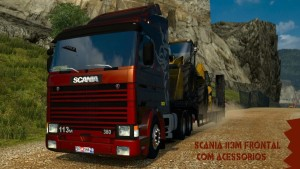 Frontal Scania 113 360