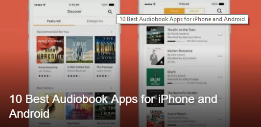 10 Best Audiobook Apps for iPhone and Android - AURHASHIR