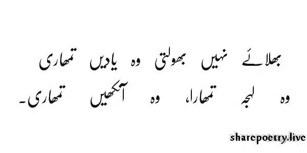 Bhulae Nahi Bhoolte Woh Yaden Tumhari-yaad shayari in urdu images