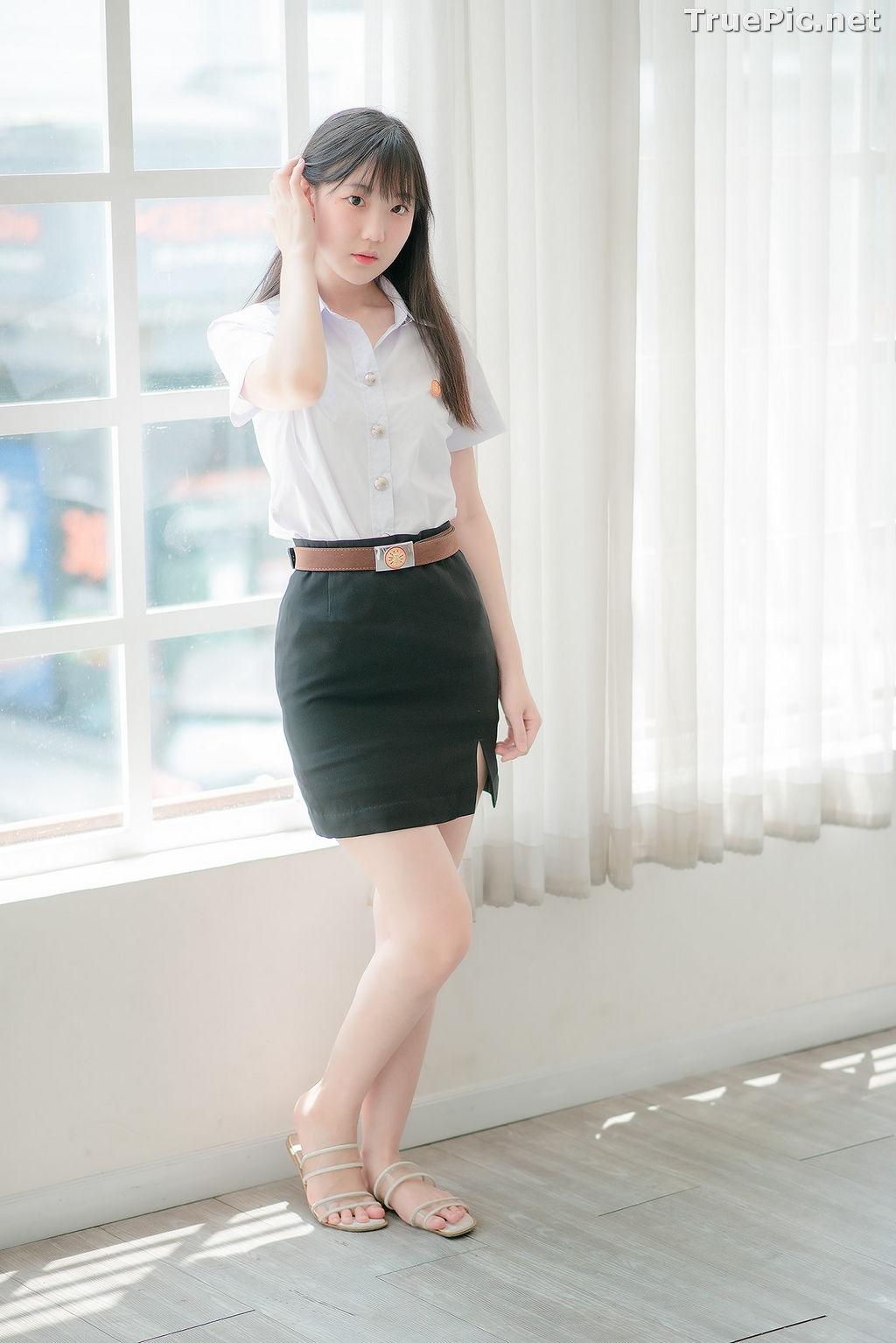 Image Thailand Model - Miki Ariyathanakit - Cute Student Girl - TruePic.net - Picture-9