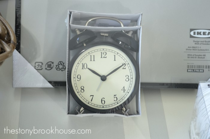 vintage looking clock