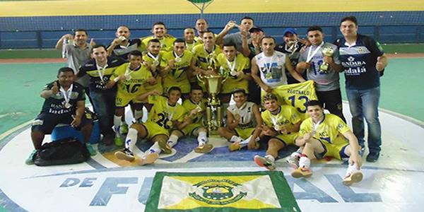 Horizonte Futsal é campeão da 4º Copa TV Verdes Mares de Futsal 2016.