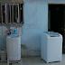 Mulher morre após sofrer choque elétrico em máquina de lavar