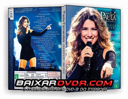 Paula Fernandes Amanhecer (2016) DVD-R