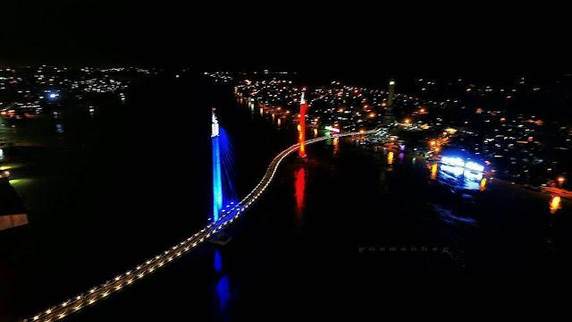 foto gentala arasy jembatan pedestrian