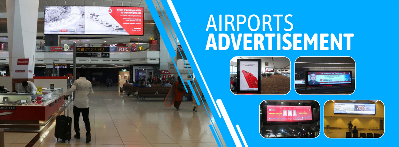 Airport Advertising Agency in India